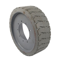 94909-GREY : Mould On Wheel - 22 X 7 X 17 For Genie Aerial Lift Parts Questions & Answers