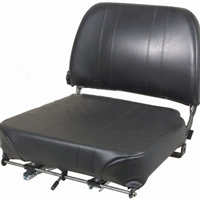 Lumbar Seat - Fully Adjustable Railing.Fits ALL forklifts. - BEST SELLER! SL-1000 Questions & Answers