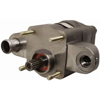 where is the hydraulic pump located on the h100xm